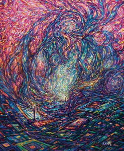 Painting: Vortex of Creation