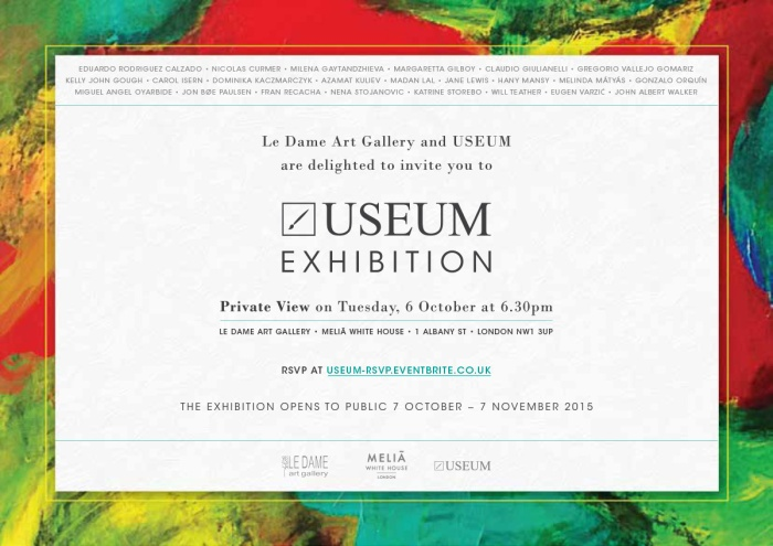 USEUM  Exhibition Invitation
